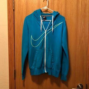 Teal Nike sweatshirt